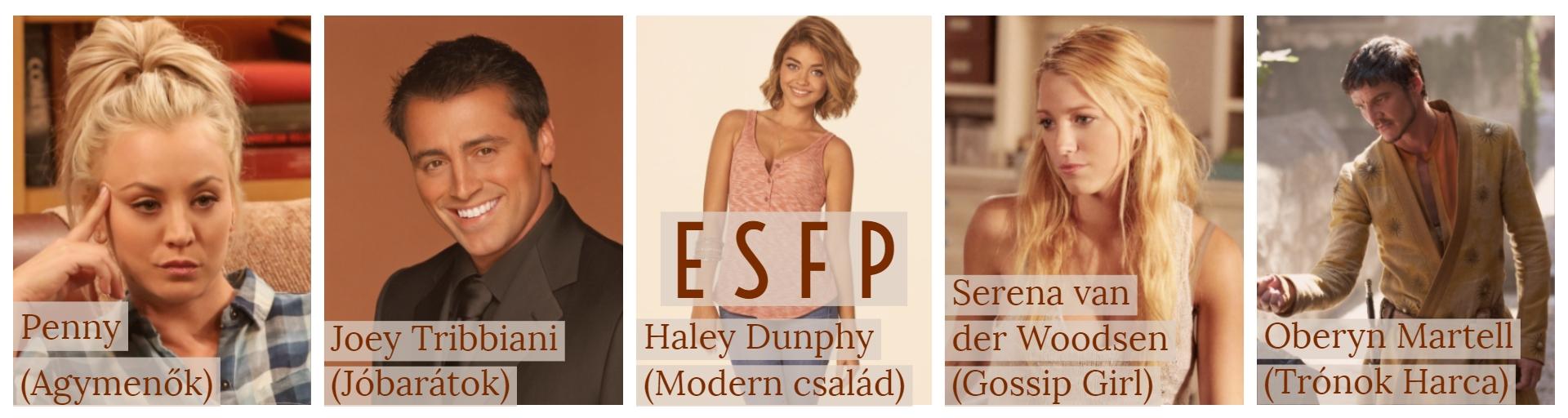 ESFP, a Szórakoztató